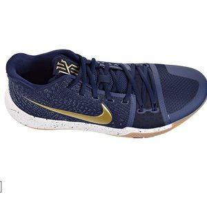 a9540cb3e913 ... reduced nike shoes nike kyrie 3 mens basketball shoes navy gold sz9  dadd4 4bf21